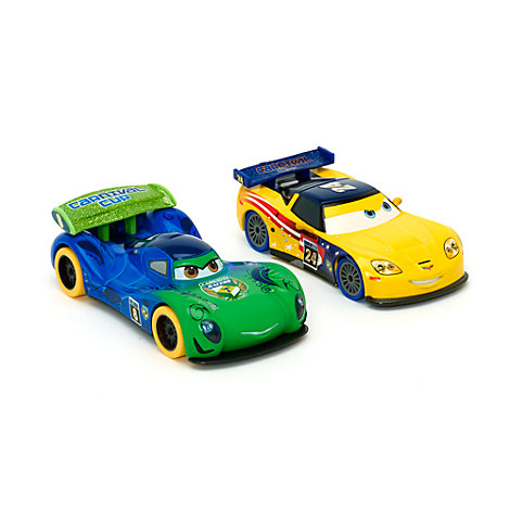 Disney Pixar Cars  - Carla und Jeff Die Casts