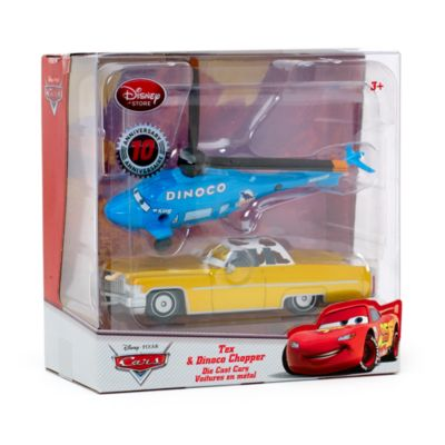 Disney Pixar Cars - Tex und Dinoco Chopper Die Casts