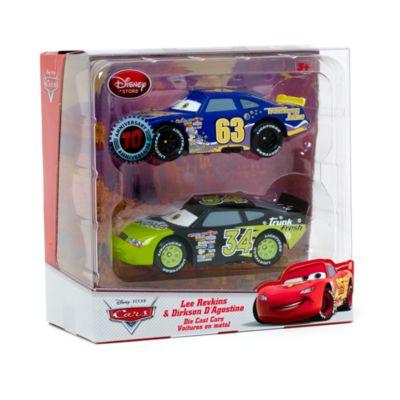 Voitures miniatures Lee Revkins et Dirkson D'Agostino Disney Pixar Cars