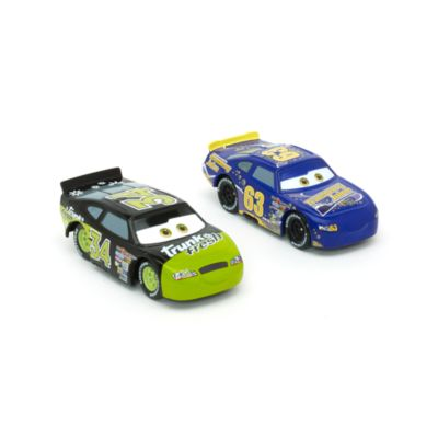 Disney Pixar Cars Lee Revkins and Dirkson D'Agostino Die-Casts