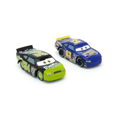 Macchinine Lee Revkins e Dirkson D'Agostino Disney Pixar Cars