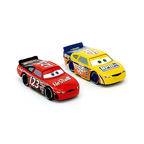 Vehículos a escala Todd Marcus y Winford Rutherford, Disney Pixar Cars