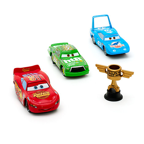 Ensemble de véhicules miniatures Piston Cup Disney Pixar Cars