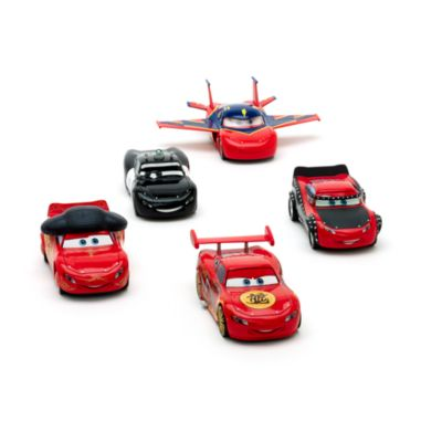 Disney Pixar Cars - McQueen-O-Rama Die Cast-Set