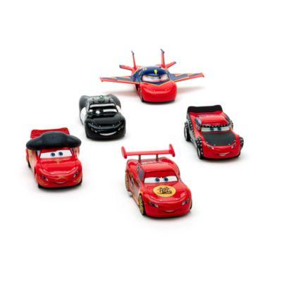 Macchinine Disney Pixar Cars, McQueen-O-Rama, set di 5