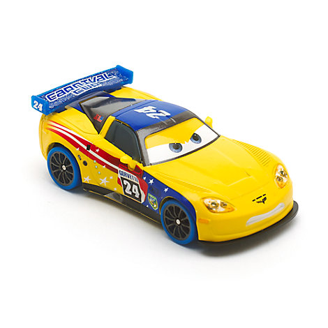 Vehículo a escala Jeff Gorvette carnaval, Disney Pixar Cars