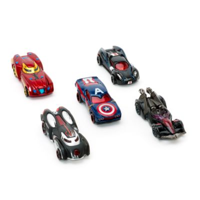 Ensemble de 5 voitures Hot Wheels Captain America : Civil War