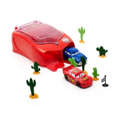 Disney Pixar Cars Spring Stunt Case Set