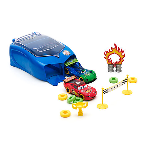Disney Pixar Cars Carnival Stunt Case Set
