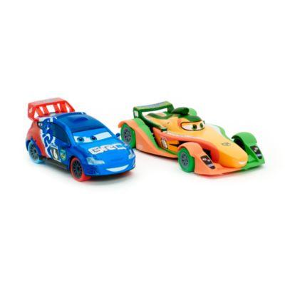Disney Pixar Cars RIP Clutchgoneski and Raoul ÇaRoule Die-Casts