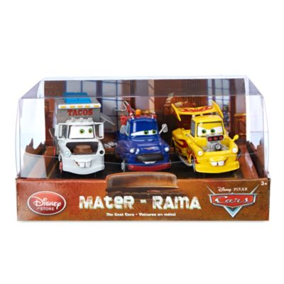 Disney Pixar Cars Mater O Rama Die-Casts, Set of 3