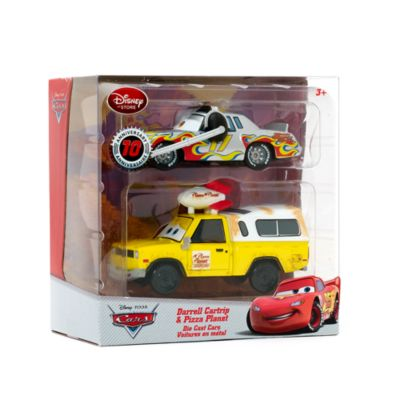 Darrell Cartrip and Pizza Planet Die-Casts, Disney Pixar Cars
