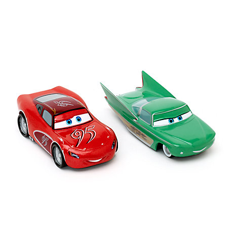 Lightning McQueen and Flo Die-Casts, Disney Pixar Cars