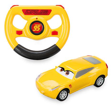 Coche teledirigido de Cruz Ramírez de Disney Pixar Cars 3