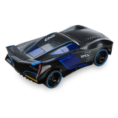Coche teledirigido de Jackson Storm de Disney Pixar Cars 3