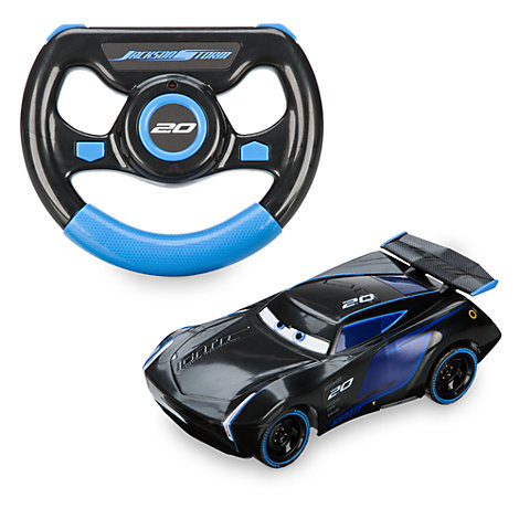 disney pixar cars 3 ferngesteuertes jackson storm auto. Black Bedroom Furniture Sets. Home Design Ideas