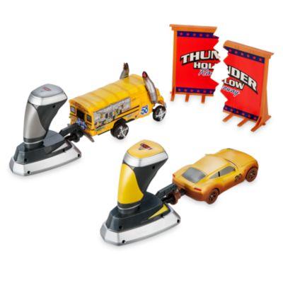 Ensemble de 2figurines de démolition Crazy 8 du circuit Thunder Hollow Disney Pixar Cars3