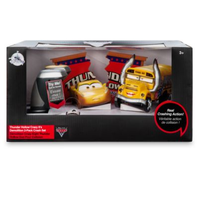 Disney/Pixar Cars 3 - Thunder Hollow Crazy 8s Demolition 2er-Pack Crash-Set