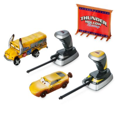 Disney Pixar Cars 3 Thunder Hollow Crazy 8's Demolition 2-Pack Crash Set