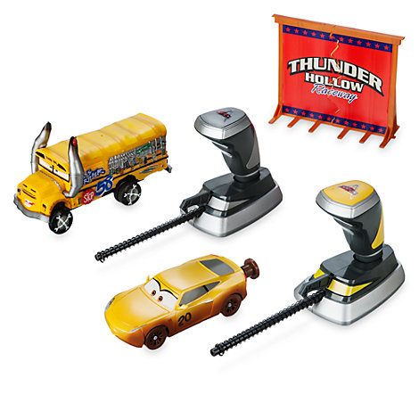Crash set da 2 pezzi Thunder Hollow Crazy 8's Demolition Disney Pixar Cars 3