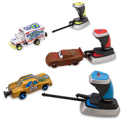 Set de tres vehículos de choque para carreras de demolición de Ocho Loco en Thunder Hollow, Disney Pixar Cars 3