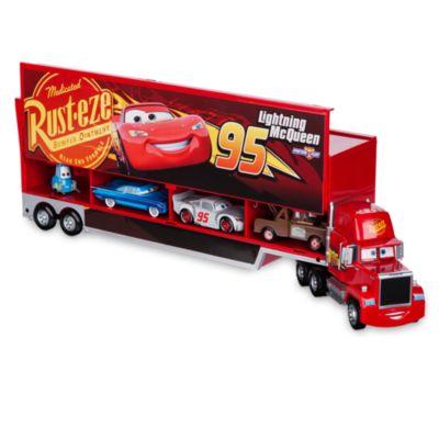 Mack transportsæt med formstøbte figurer, Disney Pixar Biler 3