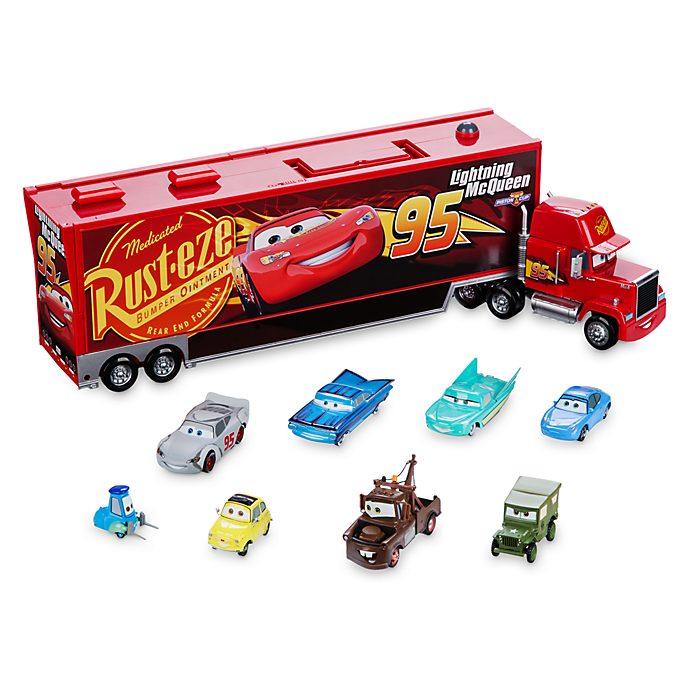 Camión a escala tipo maletín de Mack de Disney Pixar Cars 3