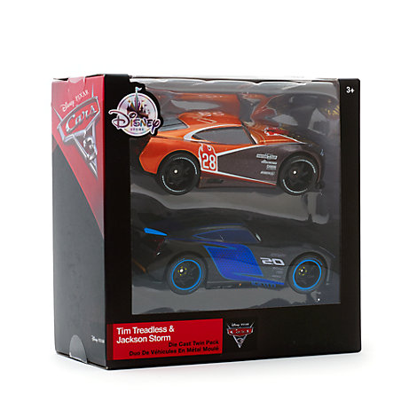 Disney/Pixar Cars 3 - Die Cast Jackson Storm und Tim Treadless