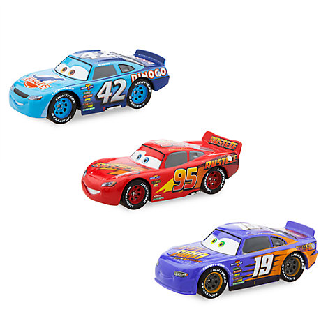 Ensemble de 3 voitures miniatures, Disney Pixar Cars 3