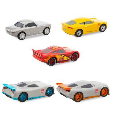 Ensemble de 5 voitures miniatures de luxe, Disney Pixar Cars3