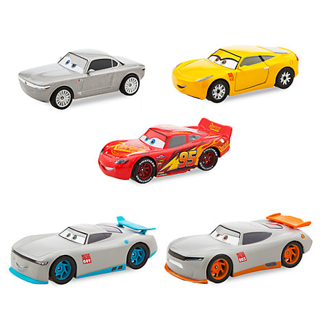 Disney Pixar Cars 3 Deluxe Die-Casts, Set of 5