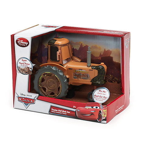 Vältande drag-och-släpp-traktor, Disney Pixar Bilar