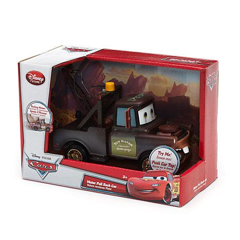 Disney Pixar Cars - Hook Abschleppwagen mit Rückzugfeder