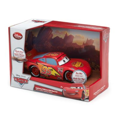 Lightning McQueen Pullback Car, Disney Pixar Cars