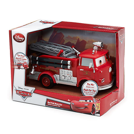 Red Pullback Car, Disney Pixar Cars