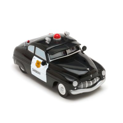 Disney Pixar Cars - Sheriff Polizeiauto mit Rückzugfeder