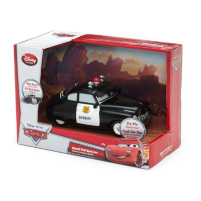 Automobilina con retrocarica Disney Pixar Cars, Sceriffo