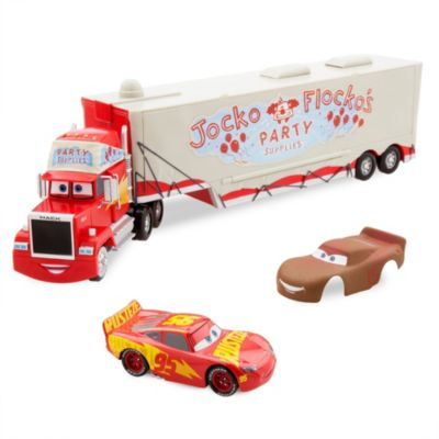 Lanceur Flocko Jocko et Flash McQueen, Disney Pixar Cars 3