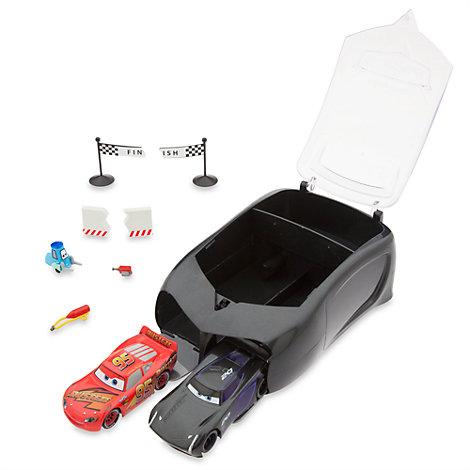 Maletín con set de accesorios de Jackson Storm de Disney Pixar Cars 3