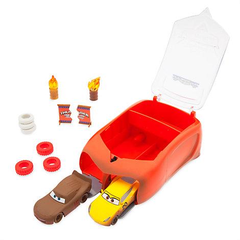 Maletín con set de accesorios de Thunder Hollow de Disney Pixar Cars 3