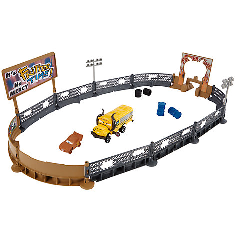 Disney/Pixar Cars 3- Crazy 8 Crashers - Smash & Crash Derby Playset
