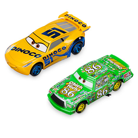 Dinoco Cruz Ramirez and Chick Hicks Die-Casts, Disney Pixar Cars 3