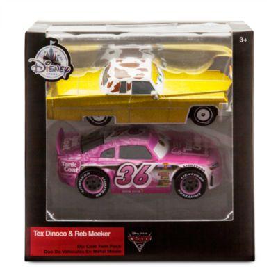 Voitures miniatures Tex Dinoco et Reb Meeker, Disney Pixar Cars3