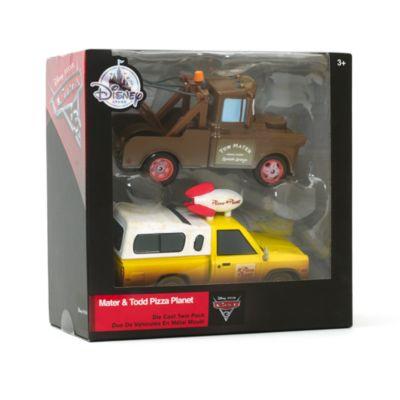 Macchinine Cricchetto e Todd Pizza Planet, Disney Pixar Cars 3