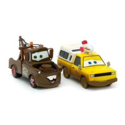 Mater and Todd Pizza Planet Die-Casts, Disney Pixar Cars 3