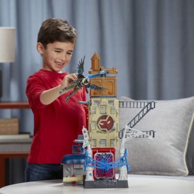 Spider-Man Homecoming Web City Playset