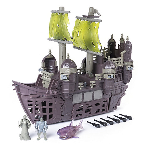 Silent Mary Ghost Ship Playset, Pirates of the Caribbean: Salazar's Revenge