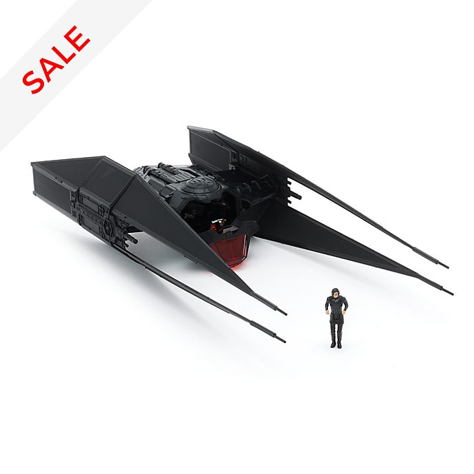 Disney Store Kylo Ren and TIE Fighter Figurine Set