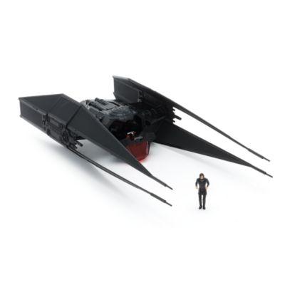 Figurines Kylo Ren et vaisseau TIE