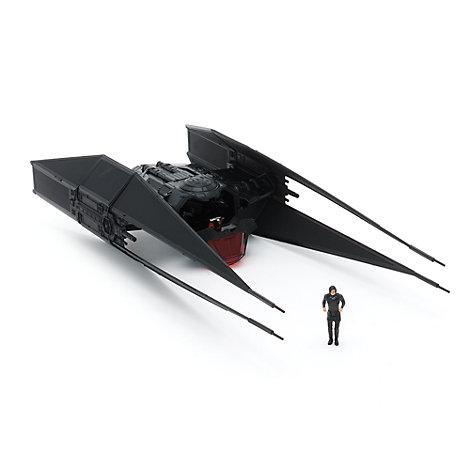 Kylo Ren and TIE Fighter Figurine Set
